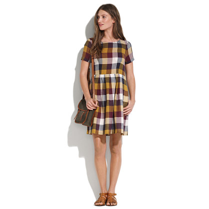 Plaid Songbird Dress