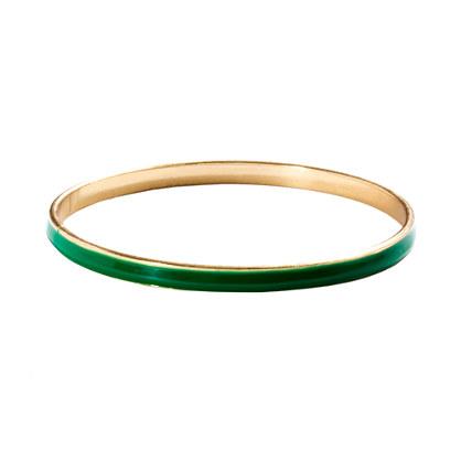 Cara Accessories™ Colored Enamel Bangle