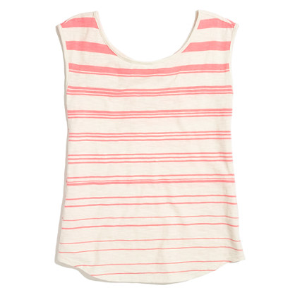 Striped Boatneck Tank