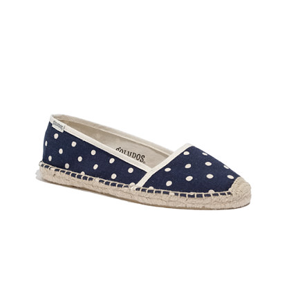 Soludos® Low-Cut Espadrilles in Polka Dot
