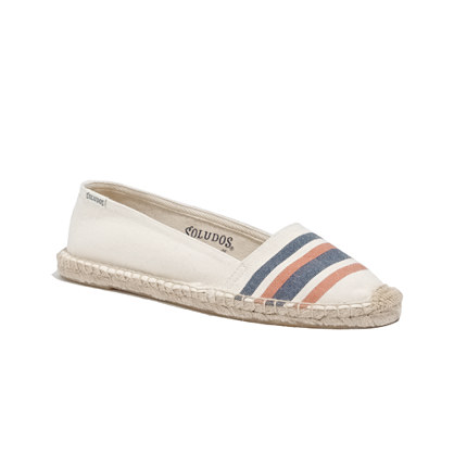 Soludos® Low-Cut Espadrilles in French Stripe