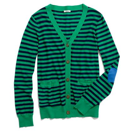 Striped Heartnote Cardigan
