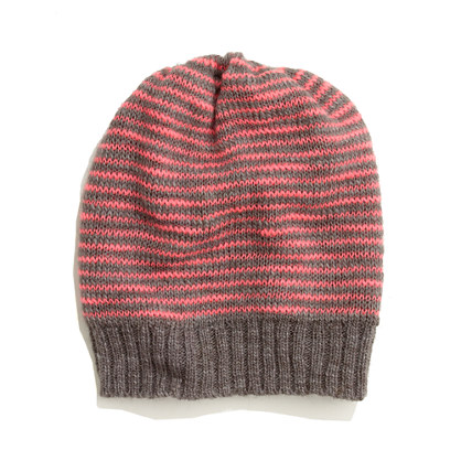 Fuzzstripe Hat