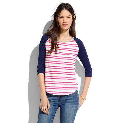 Striped flyball Tee