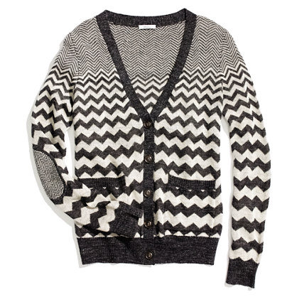 Graphic Songstress Cardigan