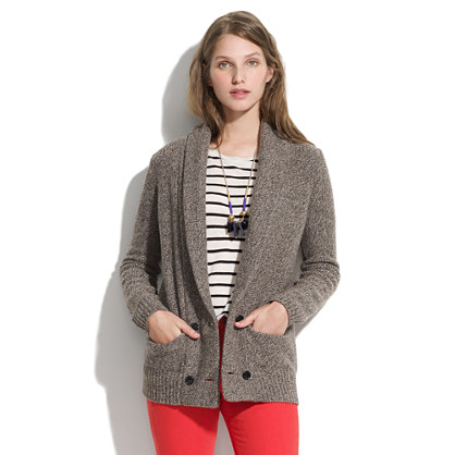 Wool Sweater-Jacket : JACKETS | Madewell