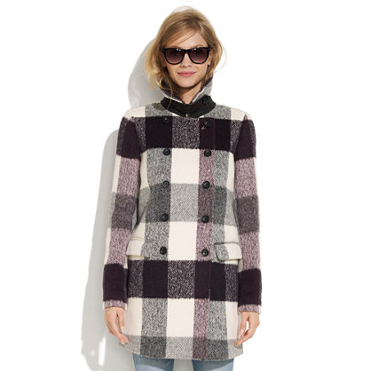 Buffalo Plaid Coat
