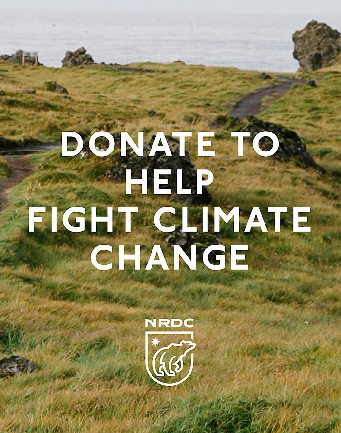 Madewell Give to NRDC and Help Fight Climate Change
