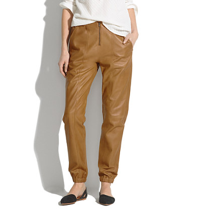 Leather Flight Pants