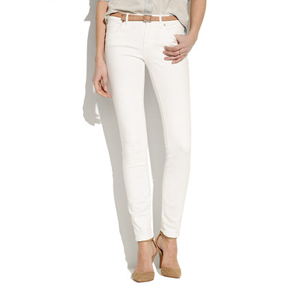 Skinny Skinny Jeans in Pure White : skinny jeans | Madewell