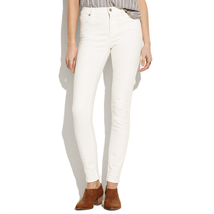 High Riser Skinny Skinny Jeans in Pure White
