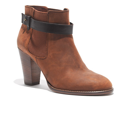The Lonny Boot in Distressed Leather