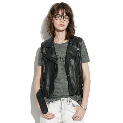 Leather Tour Vest