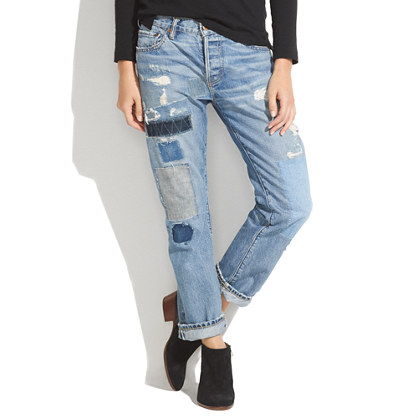 NSF® Beck Patched Boyfriend Jeans