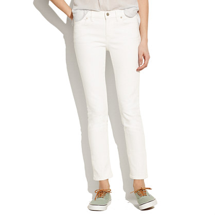 Skinny Skinny Crop Jeans in Pure White