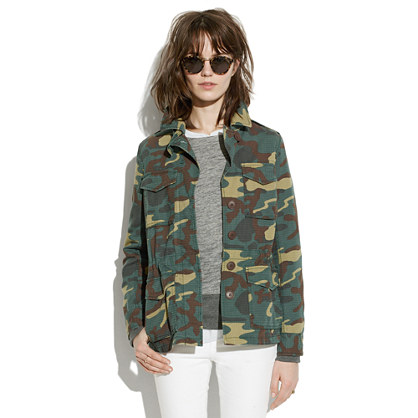 Outbound Jacket in Camo