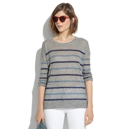 Outfield Pullover in Stripe