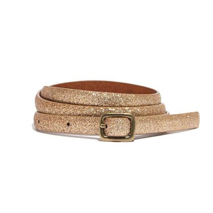 Skinny Sparkle Belt