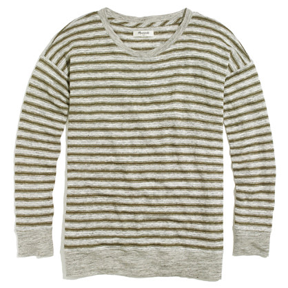 Linen Infield Tee in Stripe