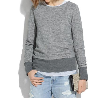 Back-Zip Sweatshirt
