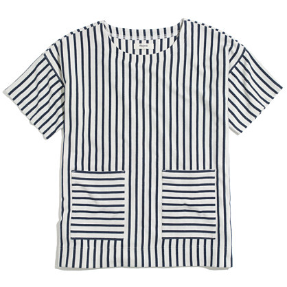 Stripe Play Pullover