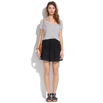 Bayfront Eyelet Skirt