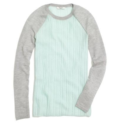 Cashmere Scoreboard Sweater