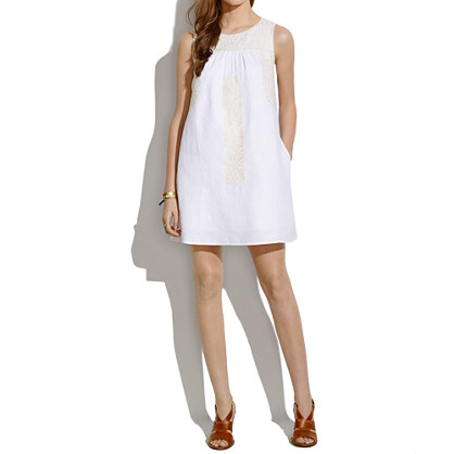Mercado Shiftdress in Pure White