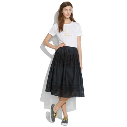Latticework Skirt