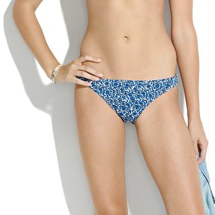 Hipster Bikini Bottom in Vinescroll