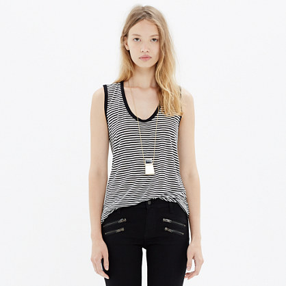 Draft Tank in Stripe
