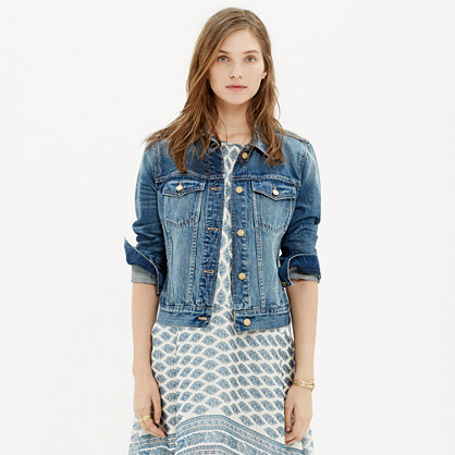The Jean Jacket : denim jackets | Madewell