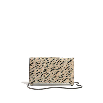 The Friday Clutch in Spot Dot