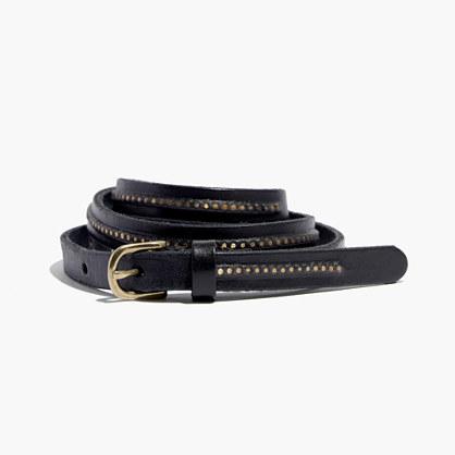 Pinstud Skinny Belt