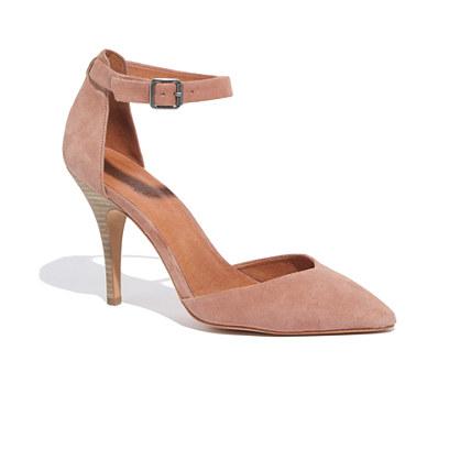 The Nora Heel in Suede