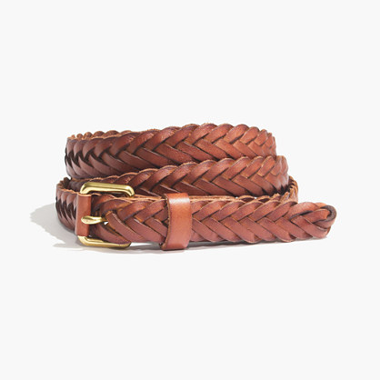 Herringbone Braid Belt