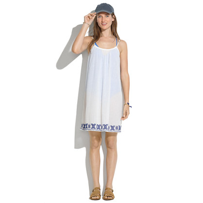 Embroidered Siesta Cover-Up