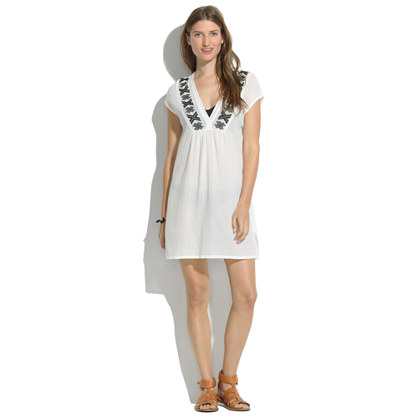 Backstroke Embroidered Tunic