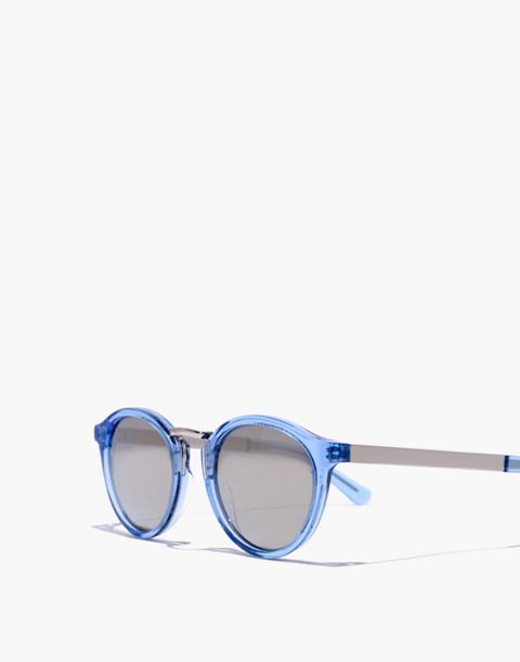 Indio Sunglasses in lt blue glass/champagne image 2