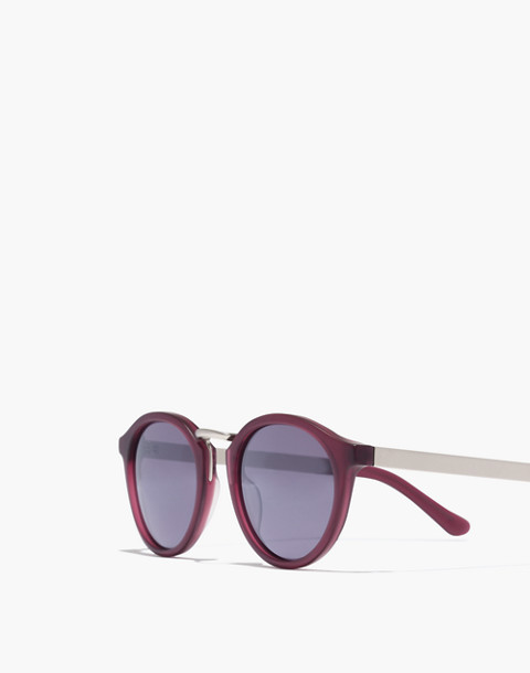 Indio Sunglasses in crimson image 2