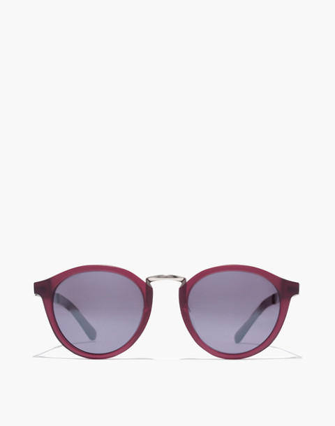 Indio Sunglasses in crimson image 1