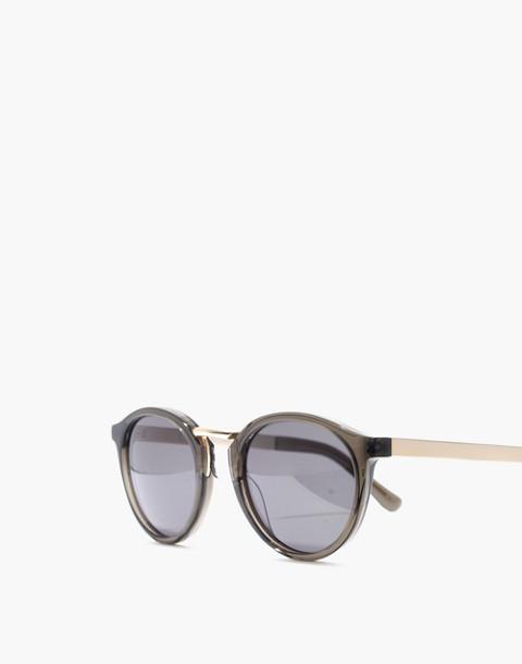 Indio Sunglasses in smoked graphite multi image 2