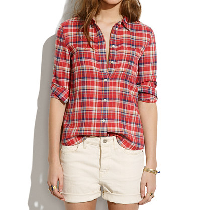 Boyshirt in Suntour Plaid