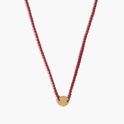 Daniela Bustos Maya™ Single Coin Necklace