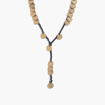 Daniela Bustos Maya™ Coin Lariat Necklace