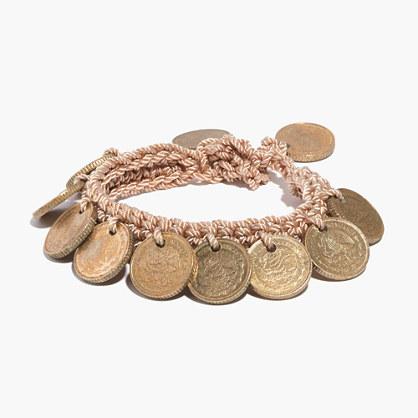 Daniela Bustos Maya™ Coin Bracelet