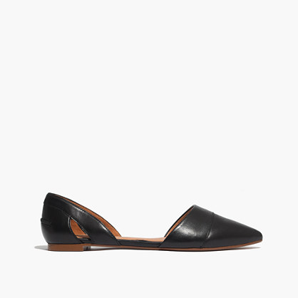 The d'Orsay Flat in Leather