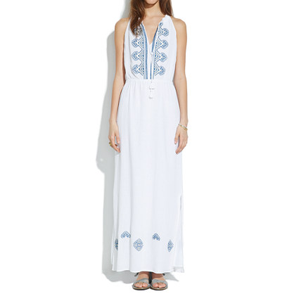 Embroidered Kilim Maxidress