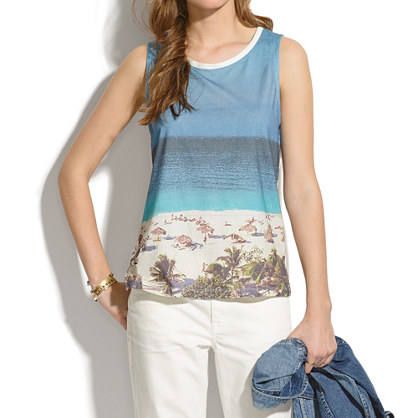 Beachday Shift Tank