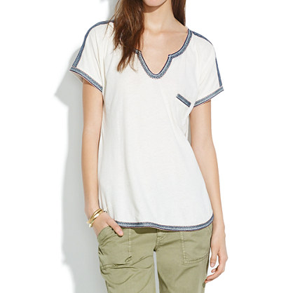 Stitchery Pocket Tee